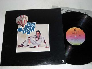 Autographed Mickey Gilley Flyin High Playboy VG NM