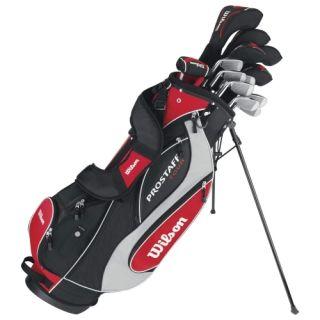 Wilson Prostaff Tour Mens Complete Golf Club Set Bag WGGC11000