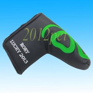 Clover Black Golf Putter cover Headcover fits Scotty Cameron Ping