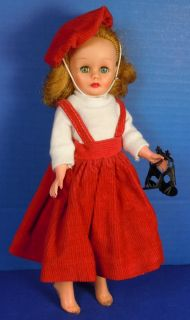 Miss Ginger Cosmopolitan 10 Doll Original Tagged Red White Outfit