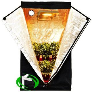 x20 x63 Mylar Hydroponics Grow Tent Clone Room Hut Hydro Cabinet Box