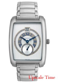 Giordano Mens Stainless Steel Silver Dial 1363 33