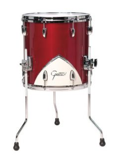Gretsch Renown 57 Motor City Red Floor Tom Drum 14x14 with Legs RN57
