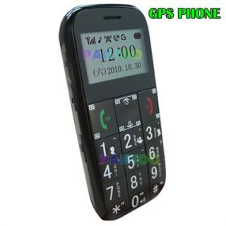 Cell Phone GPS Tracker with Real Time Tracking System LED for Elder