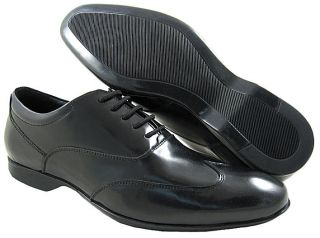 New Versace Mens VS5F044 Black Casual Oxfords Shoes US Sizes