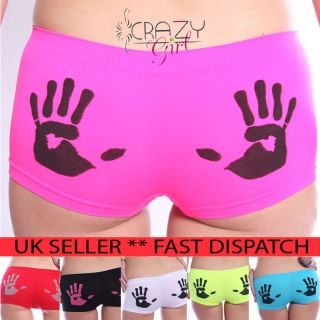 Womens Girls Ladies Pants Brief Boxer Shorts Underwear Boxers 6 8 10
