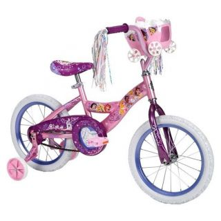 Disney PRINCESS Cinderella Belle Bike Bicycle Girls Training Wheels