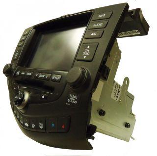 04 05 06 07 Honda Accord Navigation GPS Radio 6 CD Changer Player 2CK0