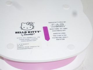 Hello Kitty Big Face Pink White Jewelry Box Bubble Bellie Girls
