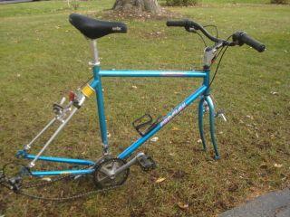 1990s VINTAGE Girvin PRO FLEX Newport Mountain BIKE Bicylce FRAME