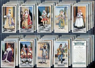 Tobacco Card Set,John Player & Sons,GILBERT & SULLIVAN,Performing Arts