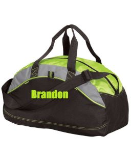Custom Personalized Groomsmen Gift Duffel Bag Gym Embroidered 5 to