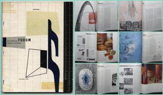 1948 Frank Lloyd Wright Architectural Forum w Gropius