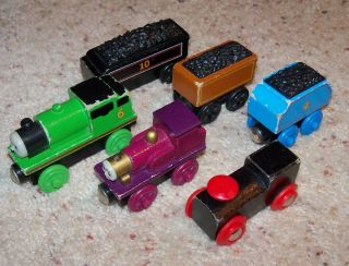 Thomas Train Wood, Lady, Percy, Gordon, Duke, Douglas, Brio Tender Set
