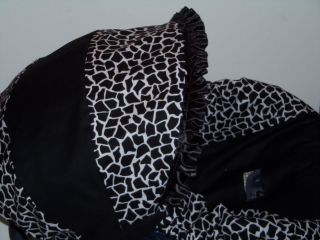 Giraffe Black White Infant Baby Car Seat Cover Graco