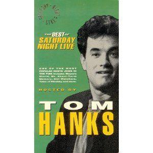 Best of Saturday Night Live Host Tom Hanks VHS New