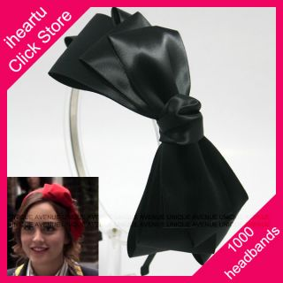Gossip Girl Headband Hair Accessory Hat Bow Band HB1368