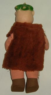 1962 Flintstones Barney Rubble Knickerbocker Doll Hanna Barbera