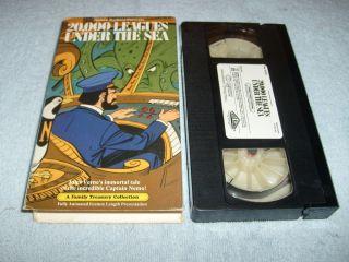 Under The Sea VHS 1973 Animated Hanna Barbera 085024061022