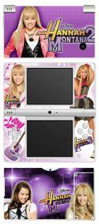 Hannah Montana 2 Vinyl Skin Sticker for Nintendo DSi