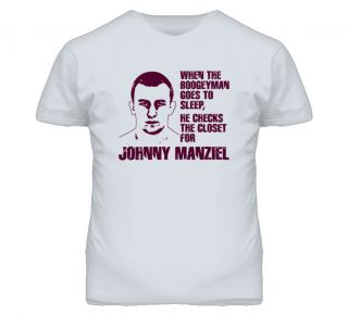 Johnny Manziel Football Texas Am Boogey Man T Shirt