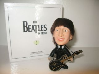 Beatles John Lennon Vintage Hard Body Remco Doll with Guitar