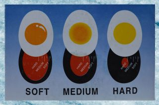 Perfect Egg Boil Boiled Colour Color Changing Egg Timer
