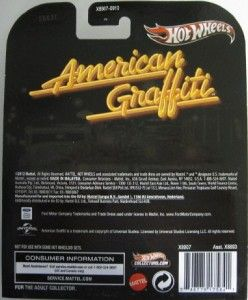 Hot Wheels American Graffiti 32 Ford 2013 Retro Series 1 64 Scale