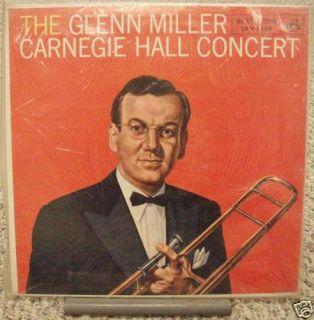 Glenn Miller Carnegie Hall Concert Vinyl VG