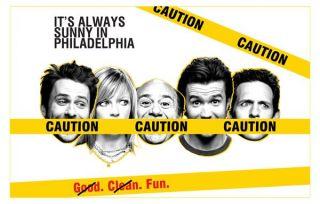 in Philadelphia Charlie Day Glenn Hower TV Series Poster Print