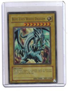 Blue Eyes White Dragon Holographic Free Shipping