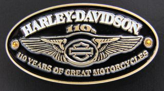 Harley Davidson 110th Anniversary Wings Vest Pin