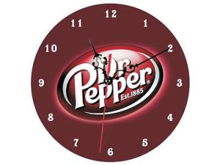 Clock 1163 DR PEPPER WALL CLOCK NEW