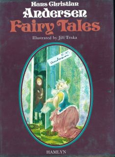 Hans Christian Andersen Fairy Tales. Illustrated Great text some wear