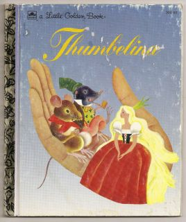 Thumbelina by Hans Christian Andersen 1981 A Little Golden Book 300 66