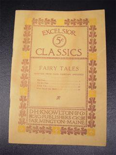 Excelsior Classics Hans Christian Andersen Fairy Tales