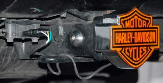 Harley Davidson LED Light Trailer Tow Hitch Cover Plug