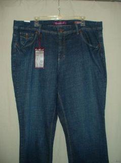 Misses Gloria Vanderbilt Jeans Size 20W
