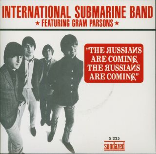 Band Russians Are Coming 7 Vinyl Gram Parsons Country