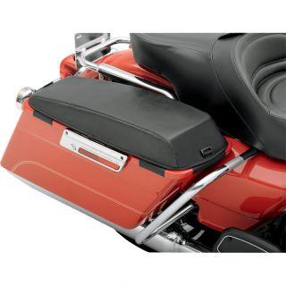 Saddlebag Chaps Lid Covers for 1993 2012 Harley Touring w/ OEM Saddleb