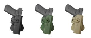 Polymer Retention Roto Holster Belt Paddle Glock 17 22 31 Gluck