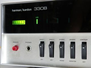 HARMAN KARDON 330B VINTAGE AMP AMPLIFIER AM(MW) FM STEREO RECEIVER