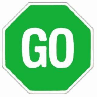 3x3 Octagon Green Go Rug Street 39 Sign Play Educational