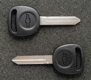GM Chevrolet B102 Key Blanks Blank