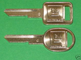 GM 1972 Chevy Chevelle SS Key Blanks