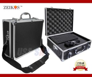 Aluminum Hard Case Zeikos ZE HC18 Carry on Compatible