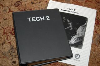 GM TECH 2 Scan Tool Operators Manual & Technicians Guide New Cheap