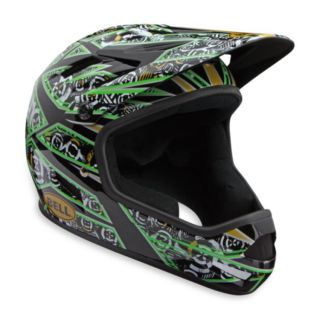 Bell Sanction Full Face Downhill Bike Helmet Green M