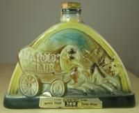 HAROLDS CLUB RENO JIM BEAM WHISKEY DECANTER REGAL CHINA 1969 C. MILLER