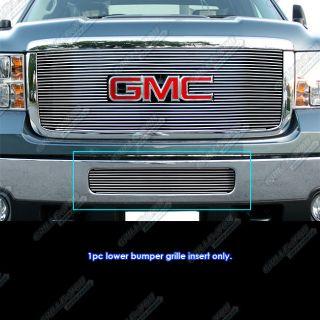 2011 2012 GMC Sierra 2500 3500 HD Bumper Billet Grille Grill Insert